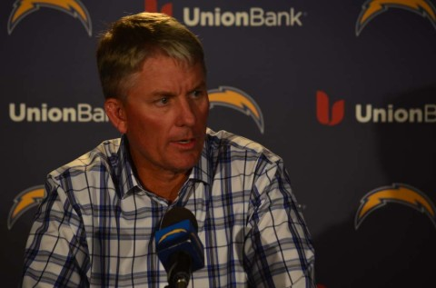 Chargers waiting for the 'next man up'