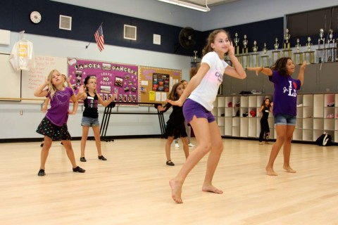 Lancer Dancers share their skills