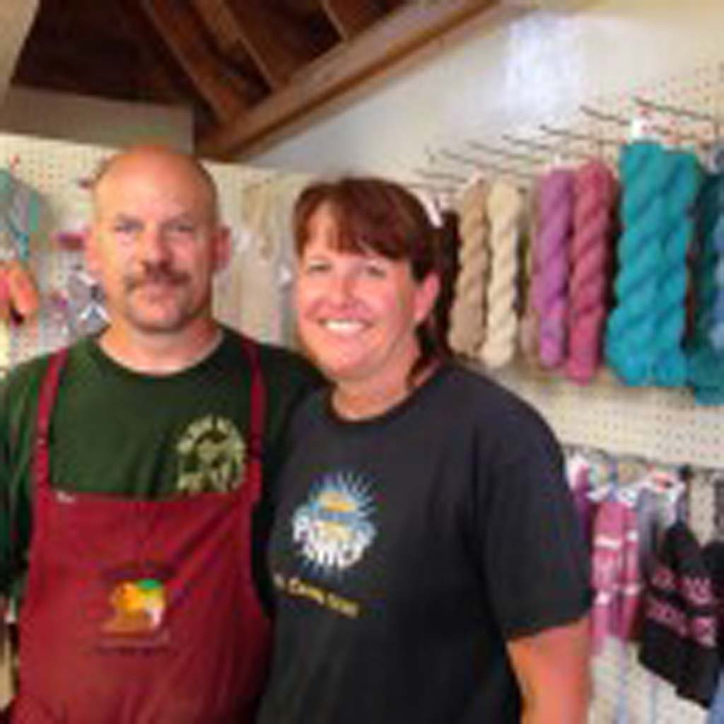 Mike and Cindy McDermott care for 50 alpacas at their Sun Crest Orchard Alpacas Farm in Palisade, Colo., a few miles east of Grand Junction. They also process fiber from 200 other farms nationwide and sell the finished products.