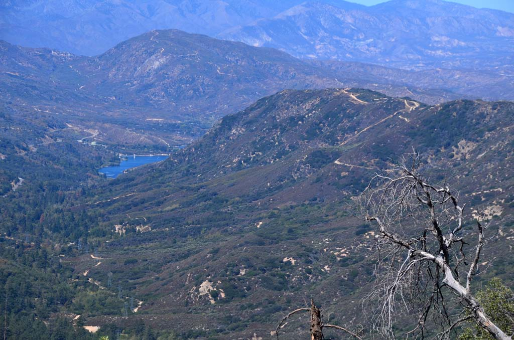 This view of a small segment of Lake Arrowhead and surrounding mountains is available on Enjoy the Mountain's two-hour Jeep tours.