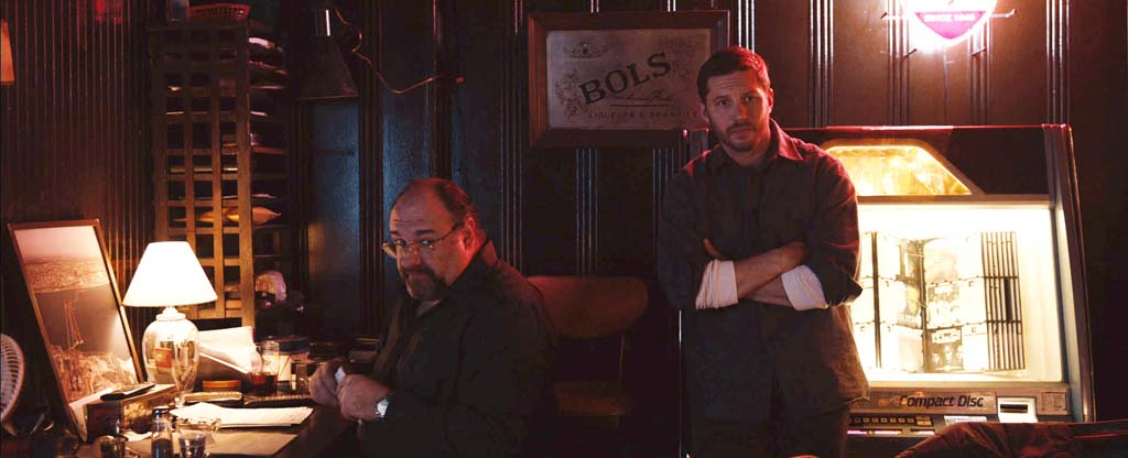 """James Gandolfini, left, in his final on screen performance with Tom Harding in """"The Drop,"""" playing in limited release. Photo courtesy Fox Searchlight"""