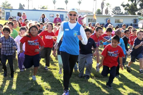 Organization aims to get kids moving one step at a time