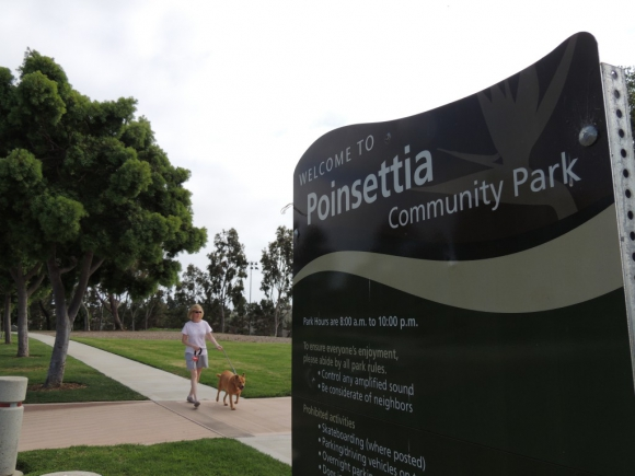 The Master Plans for the three community parks in Carlsbad, including Poinsettia Park, pictured, are in the process of being updated. File photo