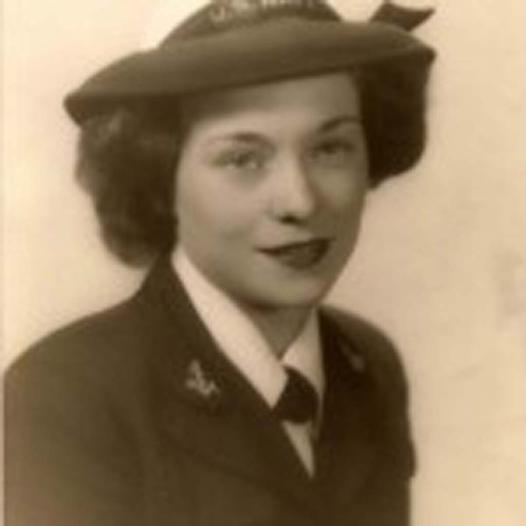 Verda joined the Navy as a WAVE, during WWII.