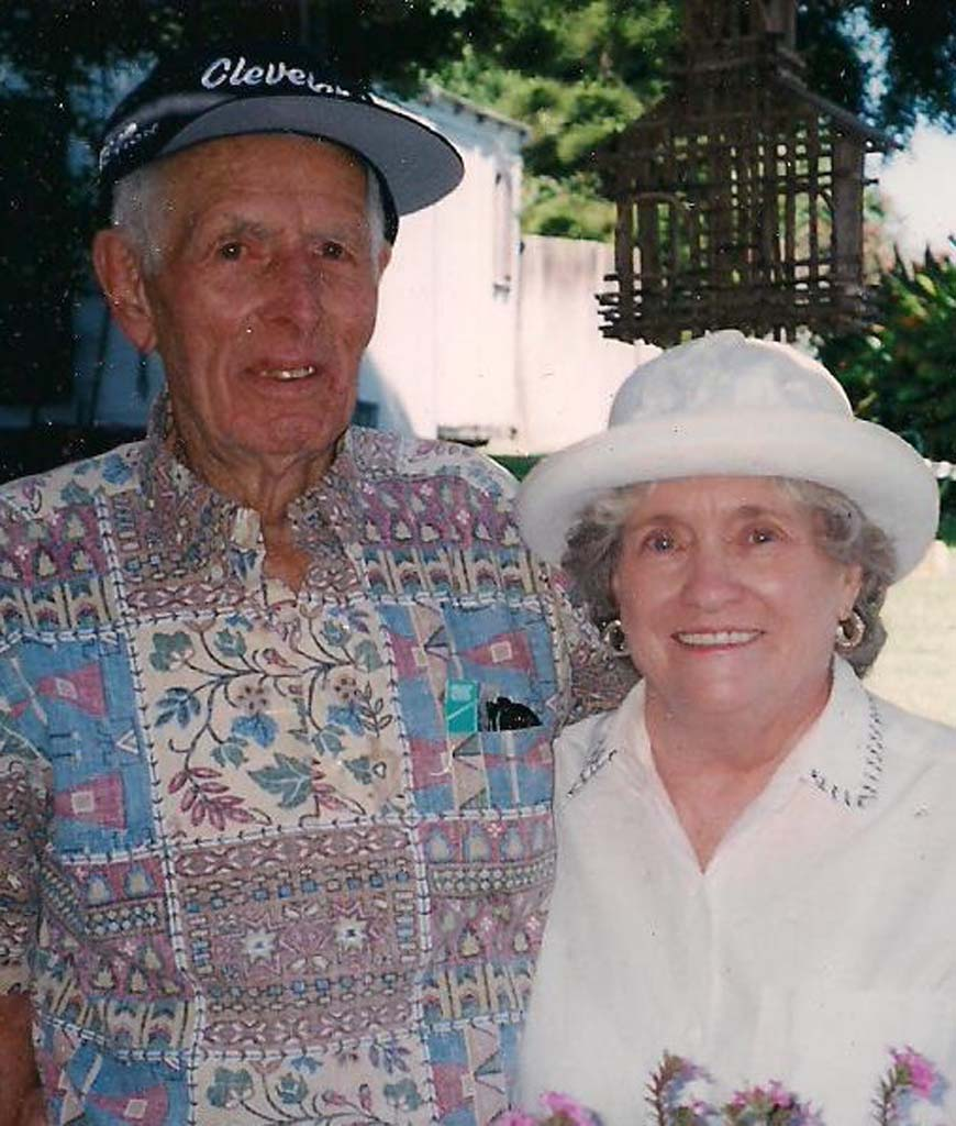 Verda and her husband Malcolm Schmidt.