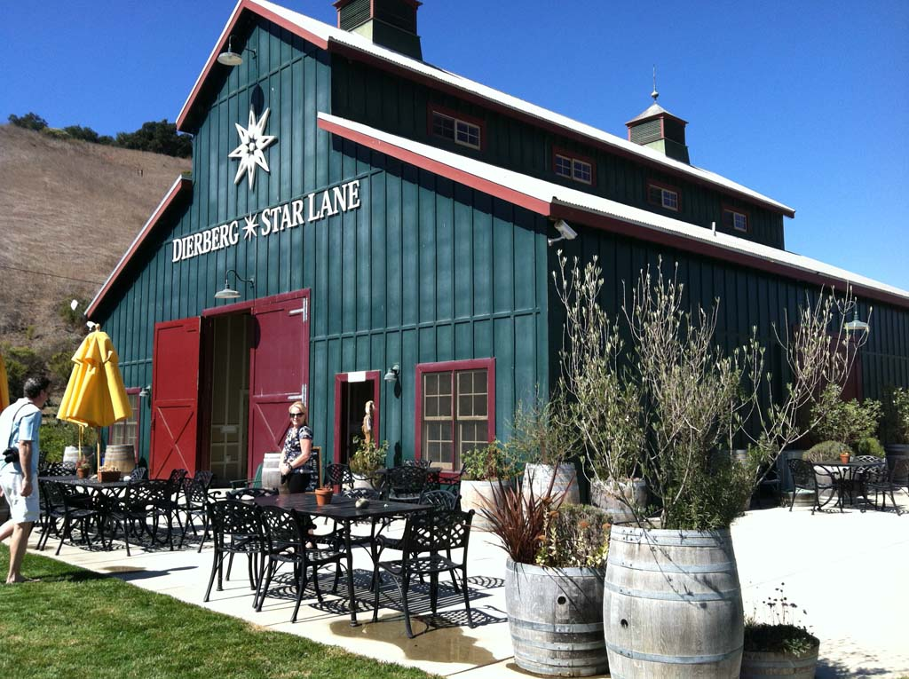The tasting room for both Dierberg and Star Lane wineries showcases wines created by Jim and Mary Dierberg. Unique microclimates and soil conditions throughout the Santa Ynez Valley allows the cultivation of 64 varieties of grapes.