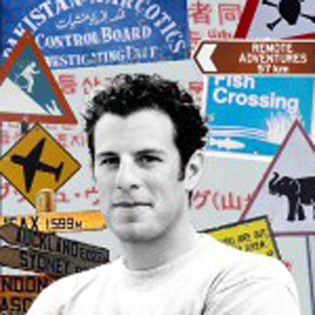 "Worldwide traveler and writer Doug Lansky has spent two decades collecting absurd signs – those he has seen as well as those spotted by other travelers. ""Ultimate Signspotting,"" published by Lonely Planet, is his fifth book on the subject."