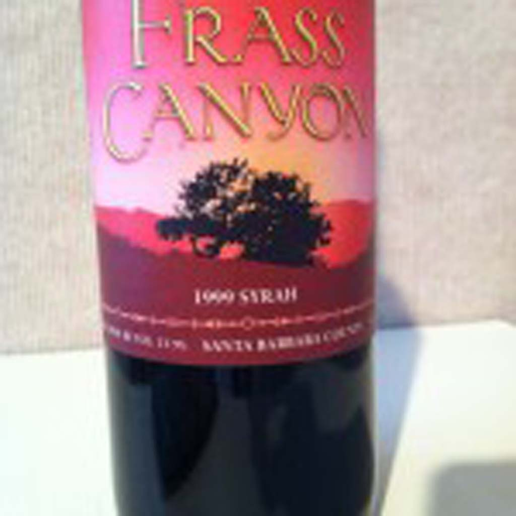"This bottle was a prop in the movie ""Sideways,"" filmed throughout the Santa Ynez Valley. All of the locations were real in the movie except for the fictitious Frass Canyon Winery, which actually was the Fess Parker Winery & Vineyard."