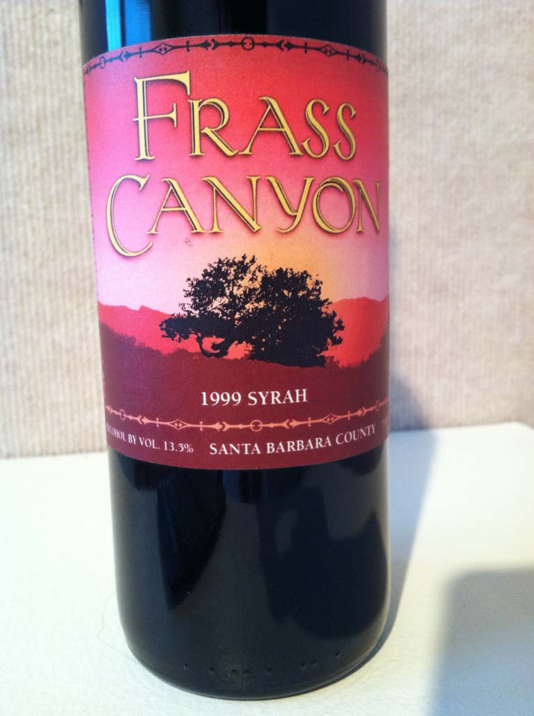 """This bottle was a prop in the movie """"Sideways,"""" filmed throughout the Santa Ynez Valley. All of the locations were real in the movie except for the fictitious Frass Canyon Winery, which actually was the Fess Parker Winery & Vineyard."""