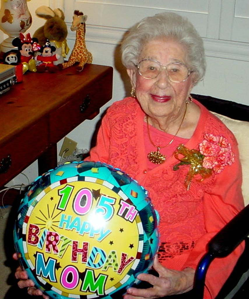 Oceanside woman celebrates 105