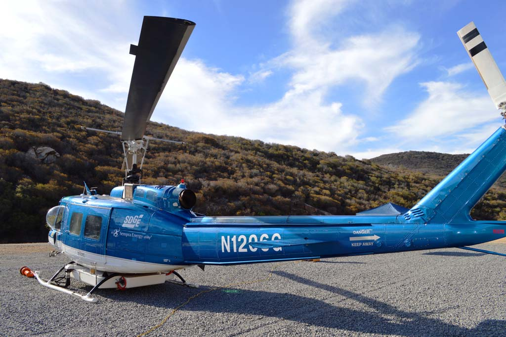 Firefighting helicopter coming to North County