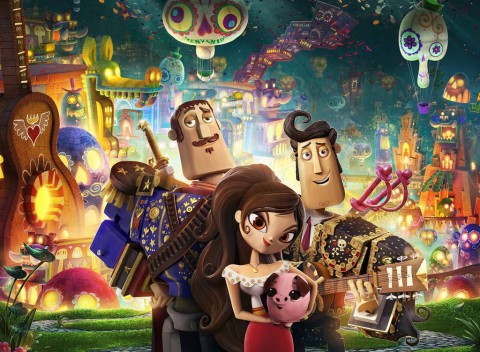 Film review: Visuals take center stage in 'The Book of Life'