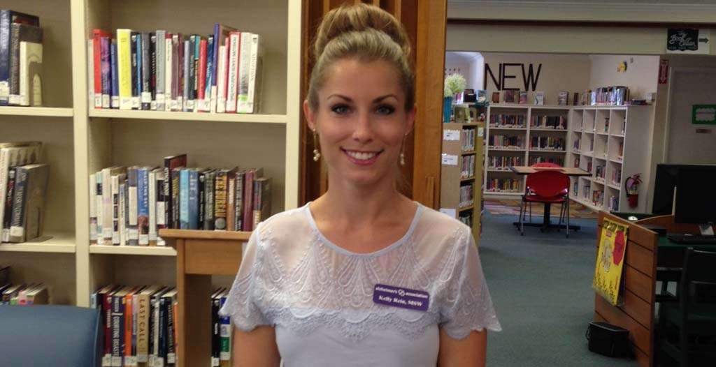 Alzheimer's Association partners with Library Guild