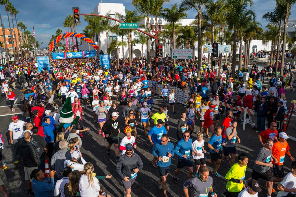 The ninth annual Oceanside Turkey Trot expects to draw 10,000 runners and walkers to the Thanksgiving Day event. Courtesy photo
