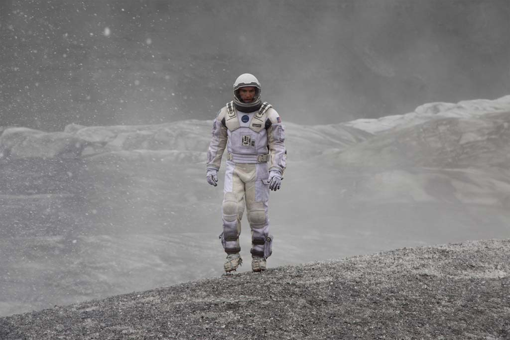 "Matthew McConaughey seeks a new world in Christopher Nolan's ""Interstellar."" Photo by Melinda Sue Gordon"