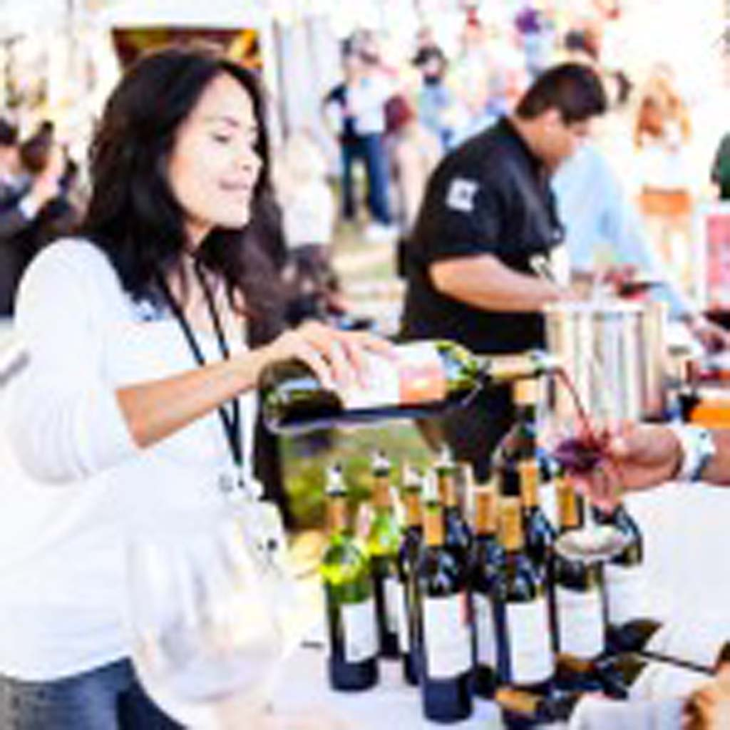 The San Diego Bay Wine & Food Festival's Grand Tasting is Saturday Nov. 22 at the Embarcadero Marina Park with over 700 different wines being poured. Photo courtesy Fast Forward Events