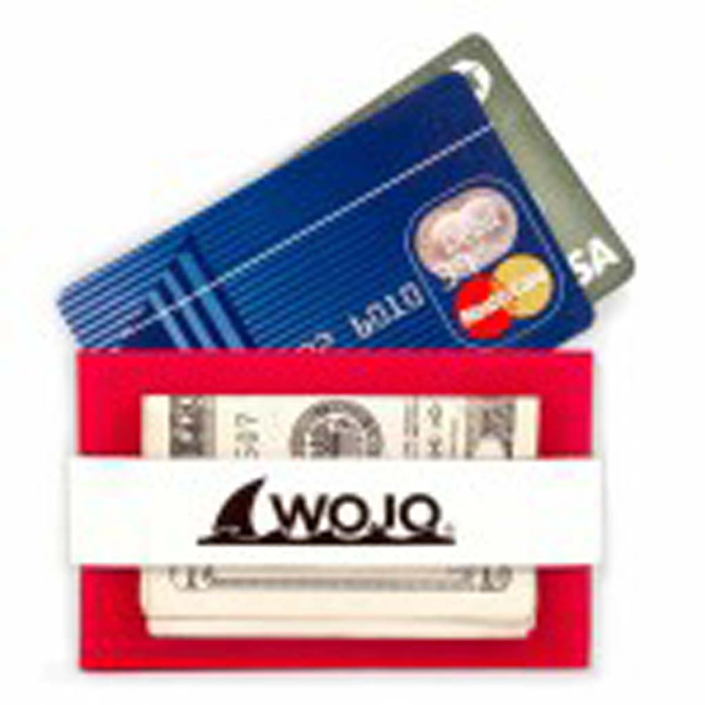 """For the person-on-the-go, the Wojo Wallet is a handy compact place to carry credit cards, driver's license, cash and a key. The neoprene-lined sleeve is grunge- and water-resistant and it floats. The minimalist design lets you tuck this wallet into narrow or hidden pockets for safekeeping. Comes in four colors and soon will be available featuring college logos and colors. $12.99. Visit HYPERLINK """"http://www.wojowallet.com"""" www.wojowallet.com."""