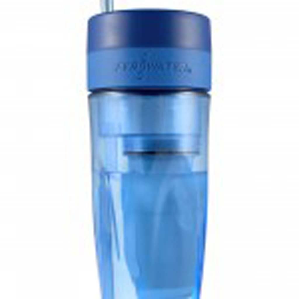 Cut the plastic-water-bottle habit and still get great tasting water with ZeroWater Tumbler, a 26-ounce, BPA-free portable container with a five-level filtration system. The filter removes all of the dissolved solids that are in most tap waters. Perfect for those long road trips, but if you fly, remember to fill it after you pass muster at the TSA checkpoint. Available at Bed Bath & Beyond. $14.99.