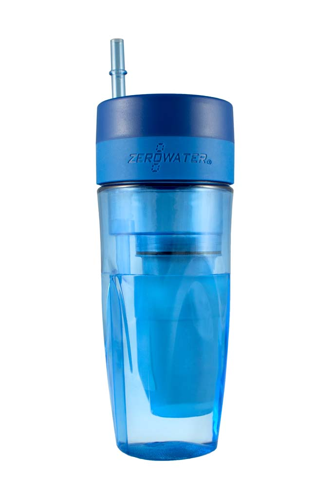 Cut the plastic-water-bottle habit and still get great tasting water with ZeroWater Tumbler, a 26-ounce, BPA-free portable container with a five-level filtration system. The filter removes all of the dissolved solids that are in most tap waters. Perfect for those long road trips, but if you fly, remember to fill it after you pass muster at the TSA checkpoint. Available at Bed Bath & Beyond. $14.99. Courtesy photos