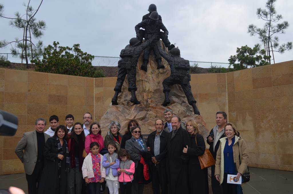 Corpsmen Memorial can now withstand test of time