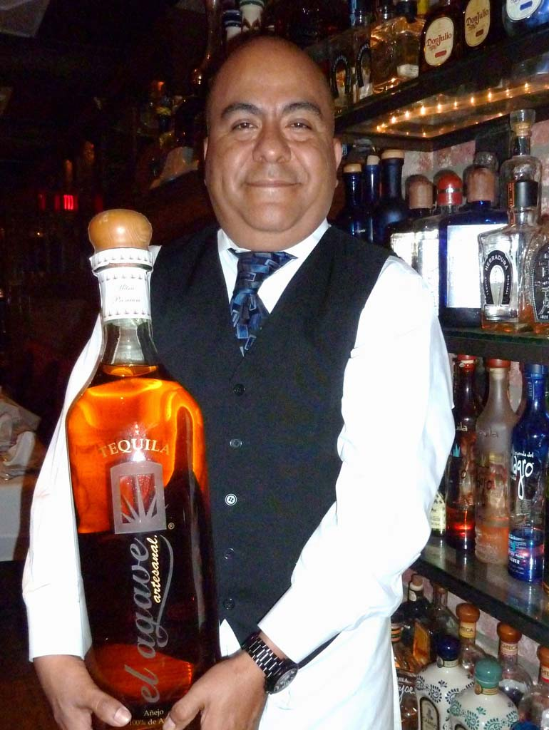 Alberto Mondragon is the generalmanager at El Agave Restaurant in Old Town San Diego. Photos by Frank Mangio