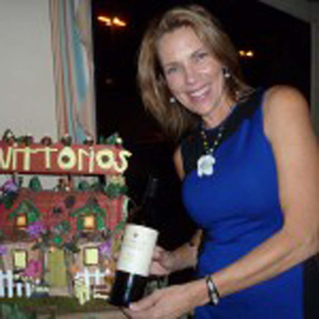Vittorio's Family Style Trattoria recently brought in Qualene Slattery to present wines from Gundlach Bundschu in the Sonoma wine district. Photo by Frank Mangio