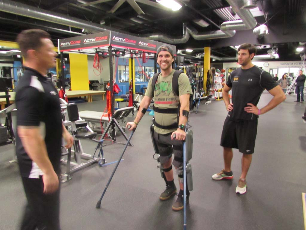 Spinal recovery center offers chance at robotic walking