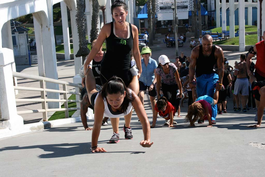 Oceanside is forming rules for fitness groups and day camps use of parks and beaches. Encinitas, Carlsbad, Solana Beach and Del Mar already have regulations in place. File photo by Promise Yee