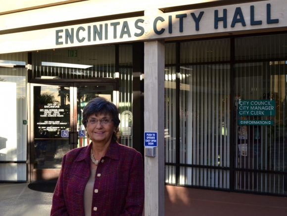 Former Encinitas Mayor and longtime City Councilmember Teresa Barth is about to embark on her second retirement. File photo