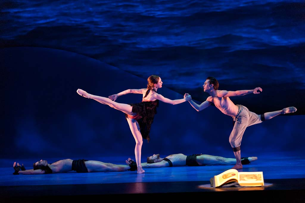 """The Alberta Ballet is performing """"Fumbling Towards Ecstacy,"""" a portrait ballet based on the music of Sarah McLachlan Jan. 25. Photo by Don Lee"""
