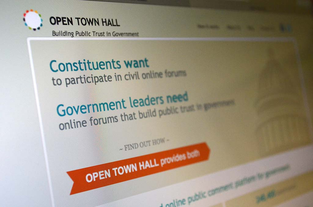 Inauthentic users a flaw in online civic platform