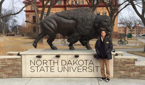Kabellis defies odds, commits to D1 North Dakota State