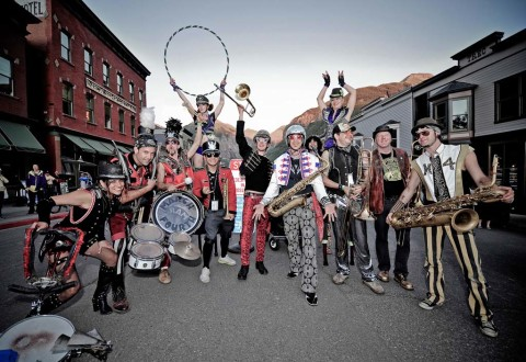 MarchFourth is not your father's marching band