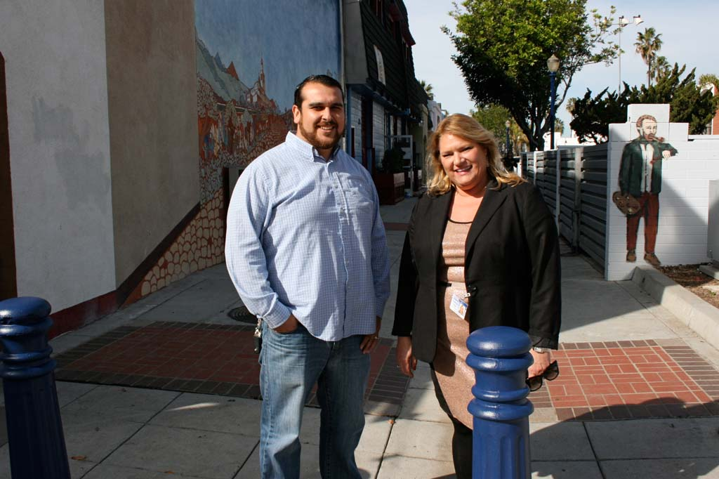 Facelift underway for Oceanside's Artists Alley