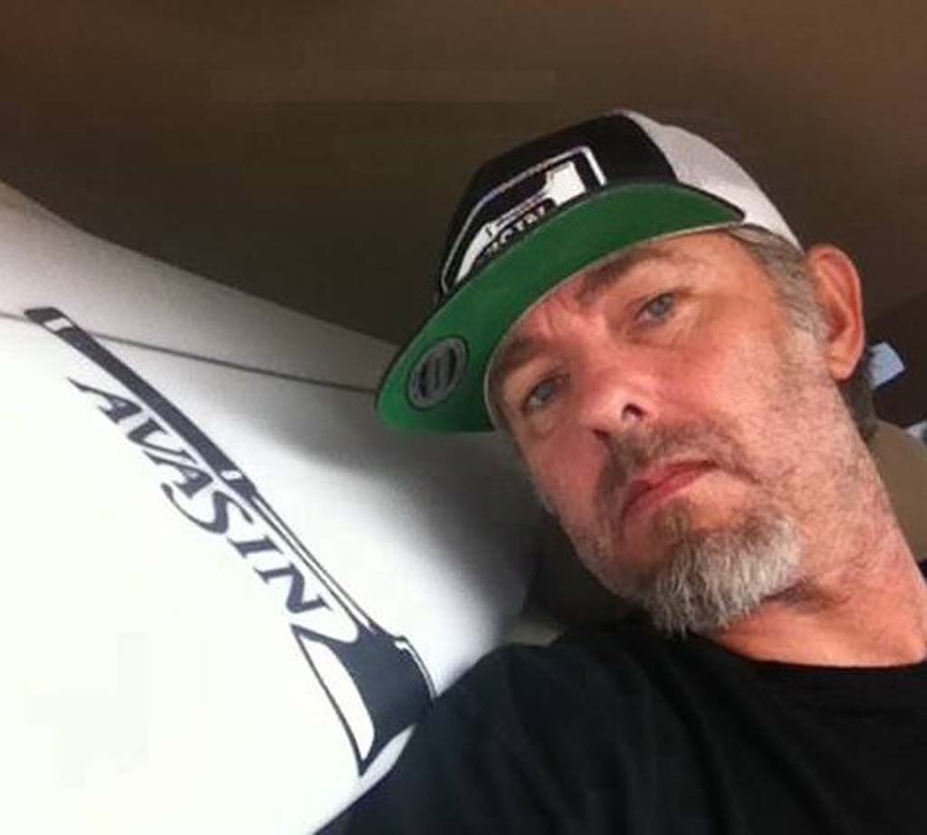 """You wanted to be like him, you wanted him to rub off on you so that way you can be more like him,"" says Ricky Whitlock of Scott Sherwood. Sherwood, a noted surfboard shaper in the North County passed away on Jan. 18. Courtesy photo"