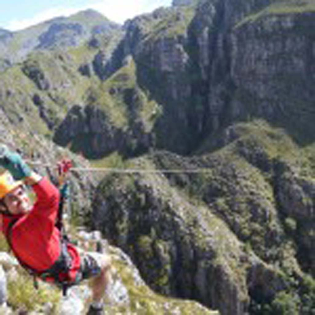"""Listed as one of the best new attractions for 2015, the Cape Canopy Tour is less than an hour's drive from Cape Town, South Africa. The tour takes participants on """"an indescribable adventure in the scenic Elgin Valley,"""" according to Lonely Planet's free ebook, """"New in Travel."""" Courtesy photo"""