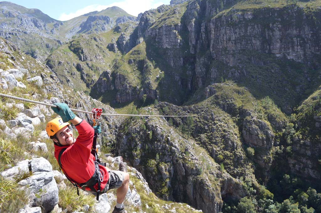 "Listed as one of the best new attractions for 2015, the Cape Canopy Tour is less than an hour's drive from Cape Town, South Africa. The tour takes participants on ""an indescribable adventure in the scenic Elgin Valley,"" according to Lonely Planet's free ebook, ""New in Travel.""  Courtesy photo"