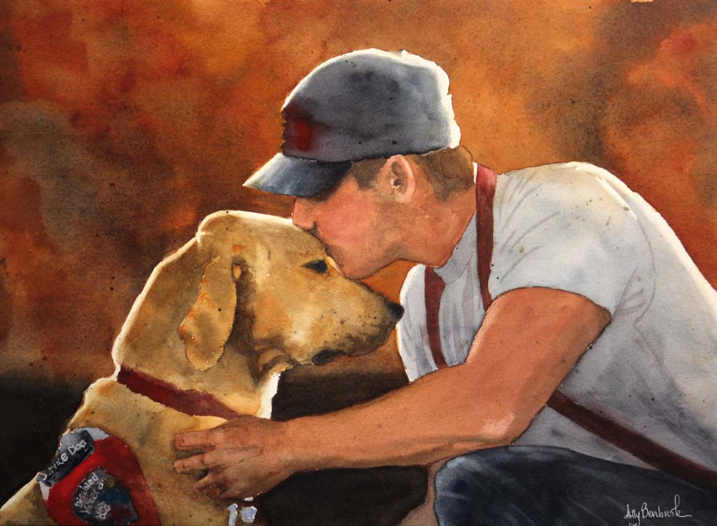 RSF nonprofit launches 'Service Dog Fine Art Contest'