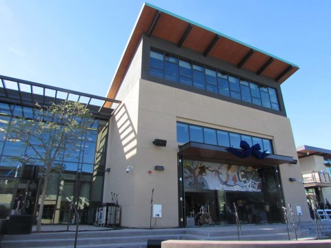 Pacific Ridge opens two new buildings