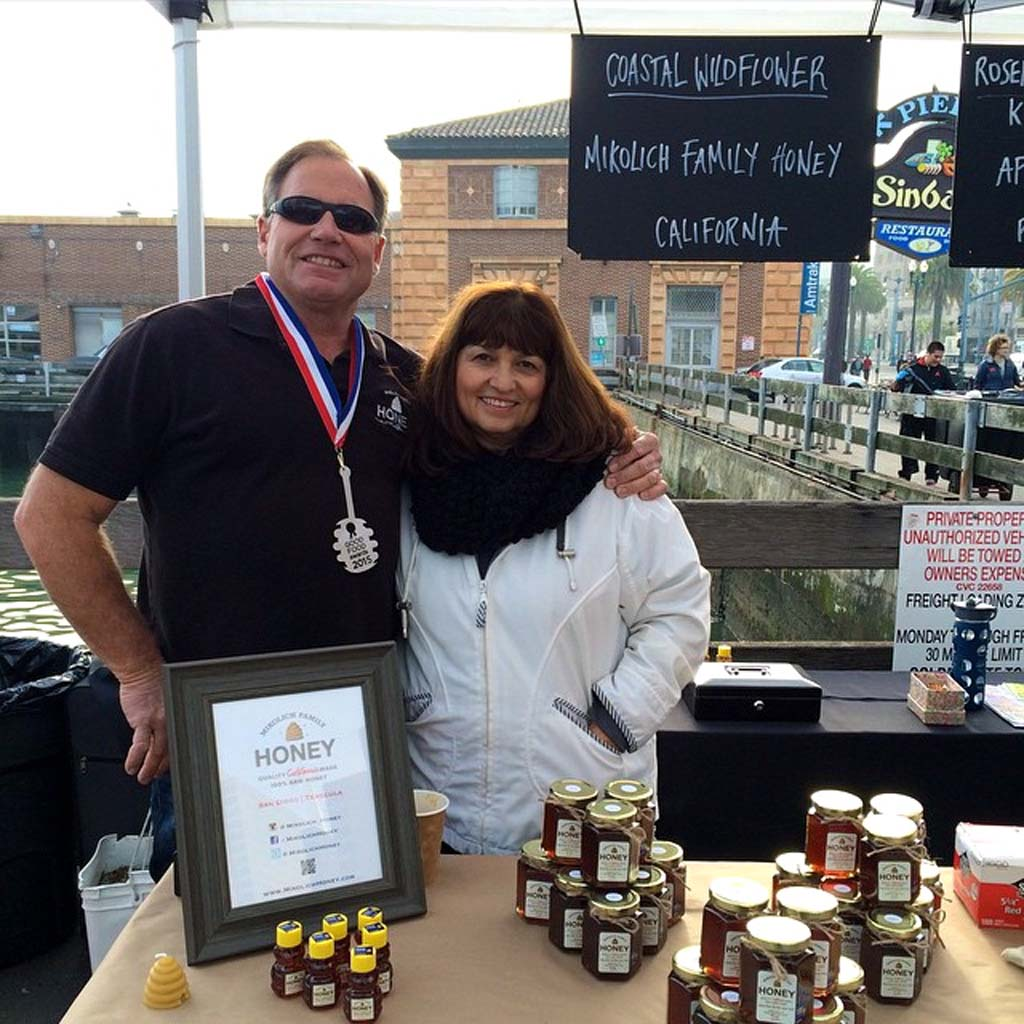 Award Winning Honey from the Mikolich family made in North County