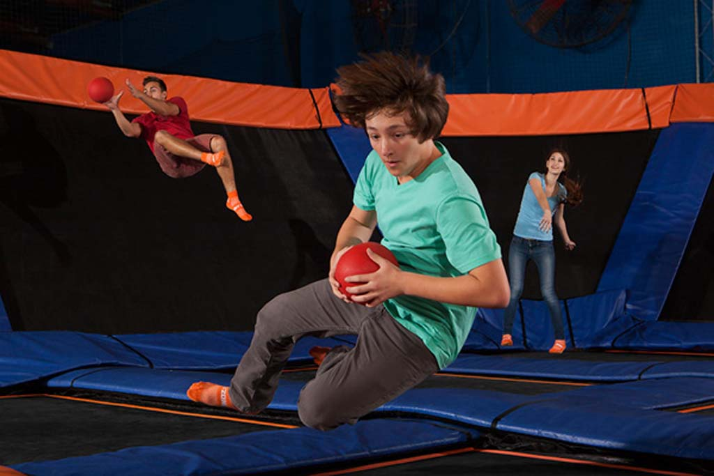 Sky Zone Indoor Trampoline Park sets to open in San Marcos, the county's first location north of Interstate 8. Courtesy photo