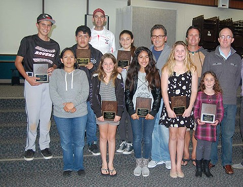 Athletes, coaches honored for sportsmanship