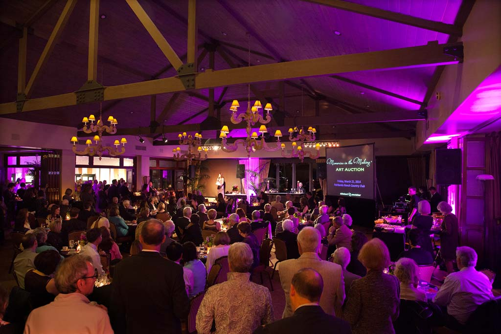 On March 6, at the Fairbanks Country Club, the Alzheimer's Association San Diego Chapter is hosting its 18th annual Memories in the Making Art Auction. Photo by Melissa Jacobs
