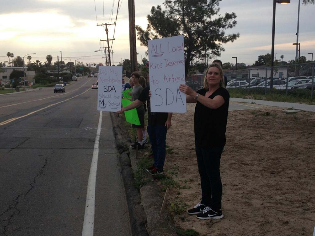 All SDUHSD applicants get first choice as parents rally for future