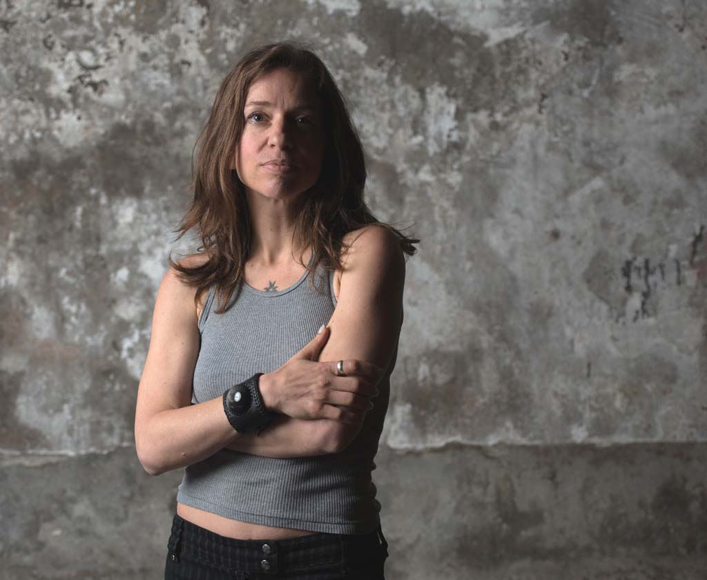 Ani DiFranco performs at the House of Blues in San Diego March 16. Photo by Charles Waldorf