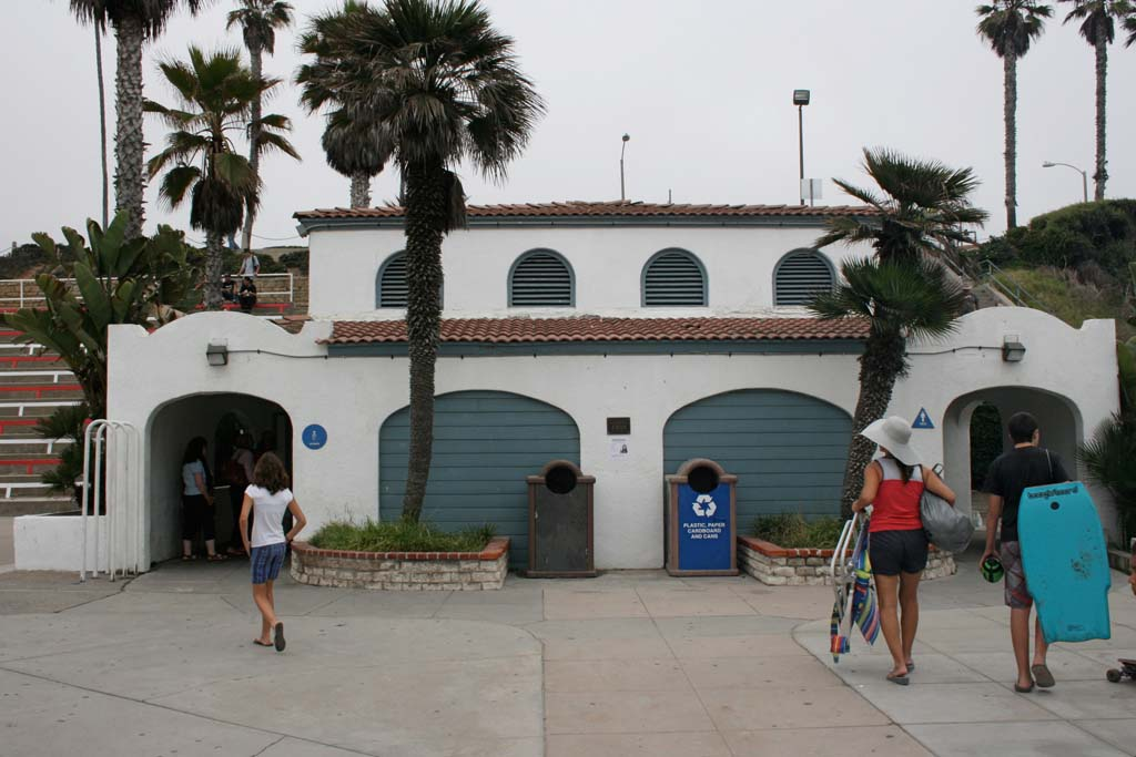 Update given on beach restroom improvements