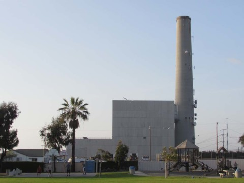 Amended power plant is 35% shorter than approved plant