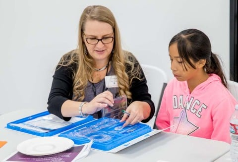 Mentorship program aims to excite young girls about STEM