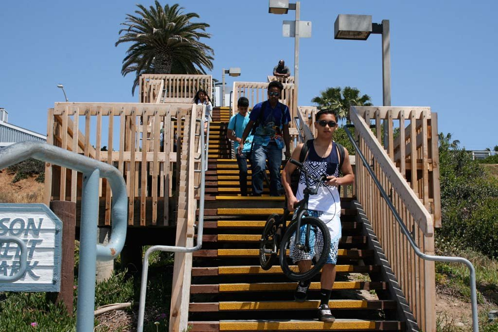 Oceanside beaches get access and lighting upgrades