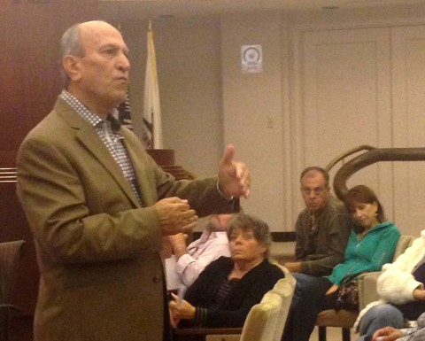 Residents concerned about Country Club at Town Hall meeting